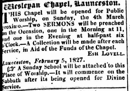 HTG 23 February 1827
