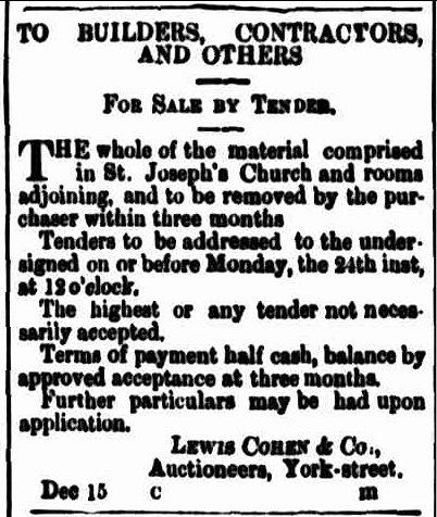 Cornwall Chronicle 15 December 1866