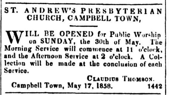 Courier 21 May 1858