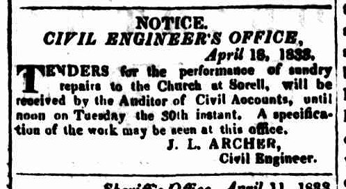 Hobart Town Courier 19 April 1833