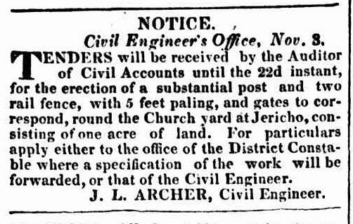 Hobart Town Courier 6 November 1835