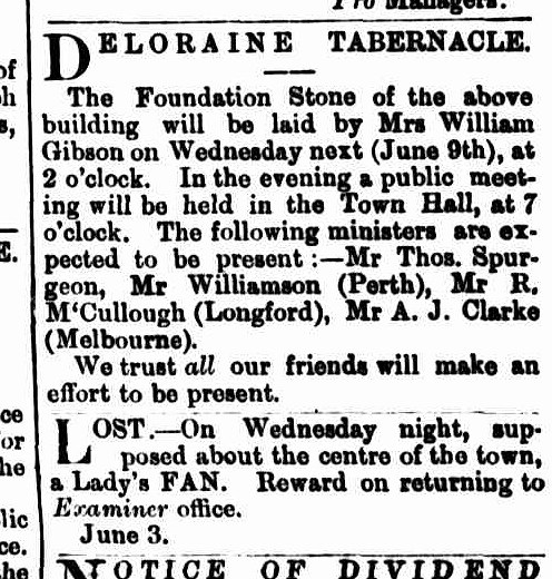 Launceston Examiner 7 June 1880