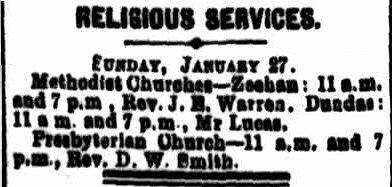 Zeehan & Dundas 26 Janaury 1907