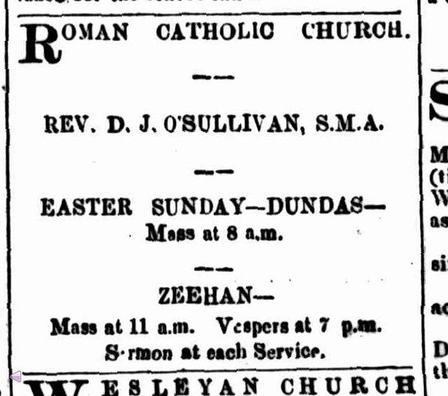 Zeehan & Dundas Herald 16 April 1892