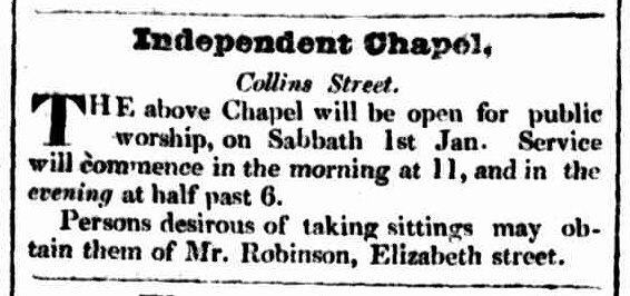 Hobart Town Courier, 30 December 1836