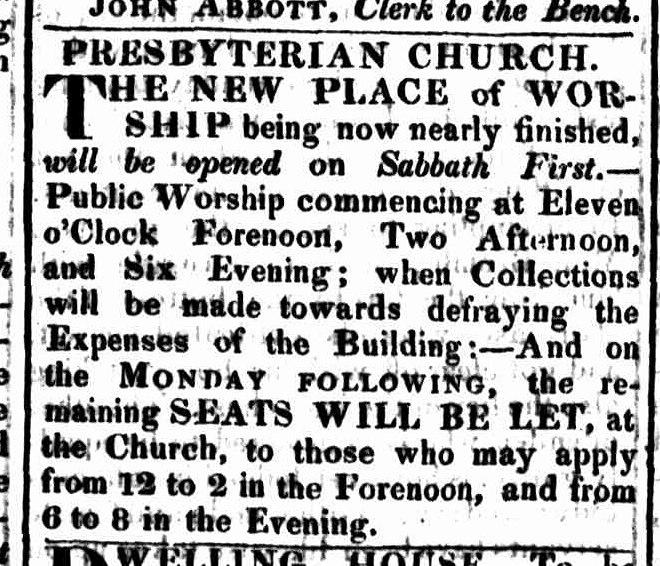 Hobart Town Gazette, 10 September 1824