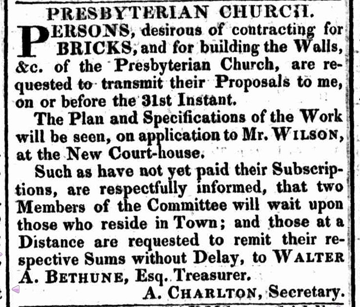 Hobart Town Gazette, 23 August 1824