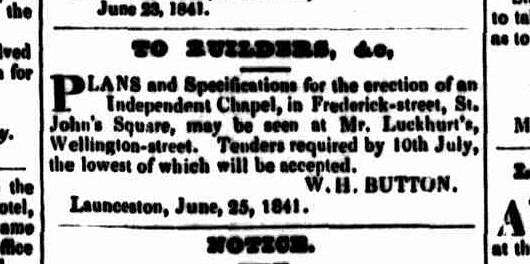Launceston Advertiser 1 July 1841