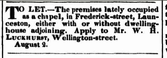 Launceston Examiner 6 August 1842 1