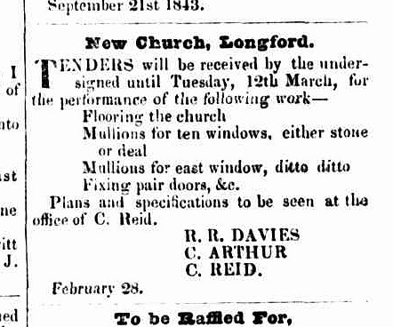 Launceston Advertiser, 7 March 1844