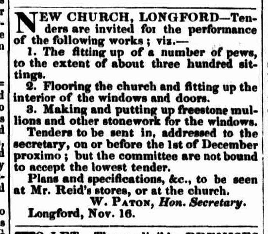Launceston Examiner, 23 November 1842