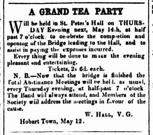Hobarton Mercury, 13 May 1857