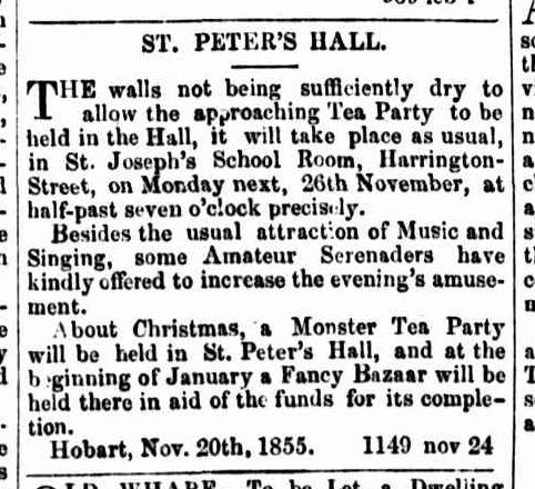 Tasmanian Daily News, 24 November 1855