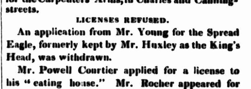 5 November 1845 -- KH