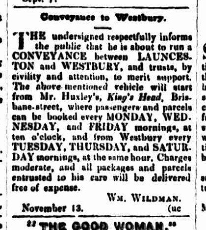 Cornwall Chronicle, 13 November 1844 --KH