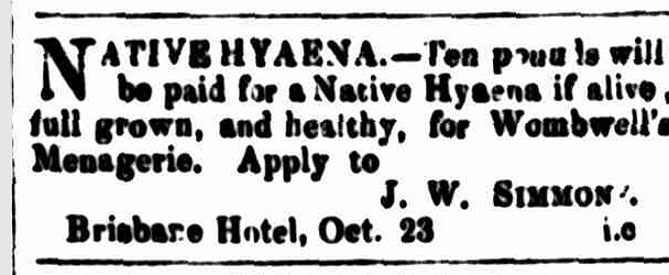 Cornwall Chronicle, 23 October 1858 -- KH