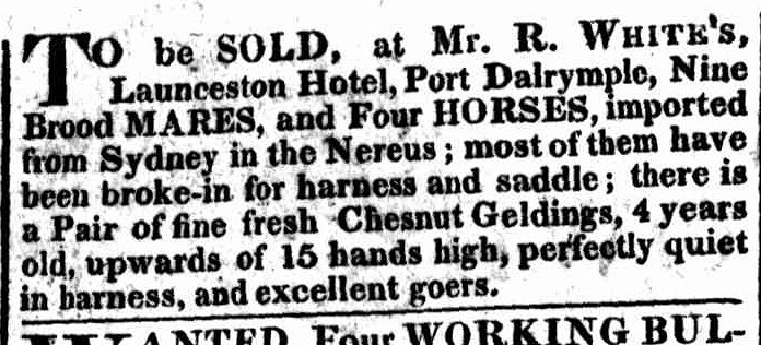 Hobart Town Gazette, 9 August 1823