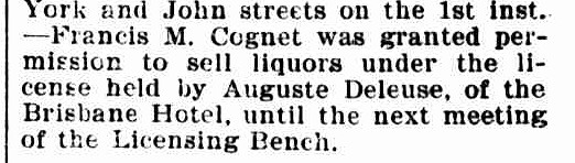 Launceston Examiner, 15 March 1899