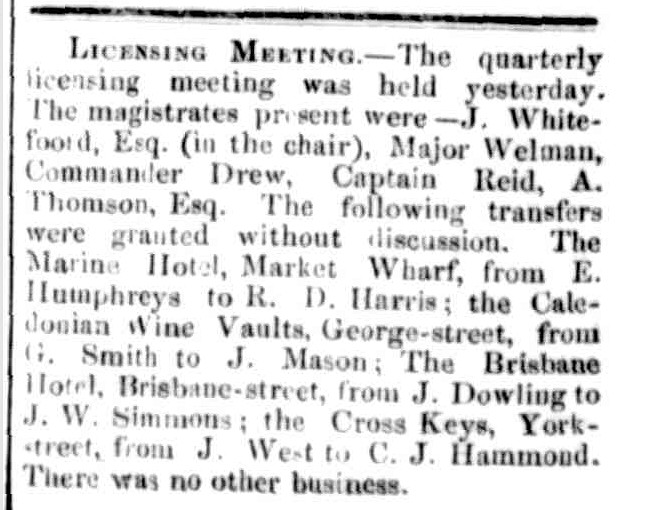 Launceston Examiner, 2 February 1858