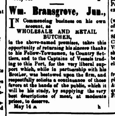 Cornwall Chronicle, 18 May 1859