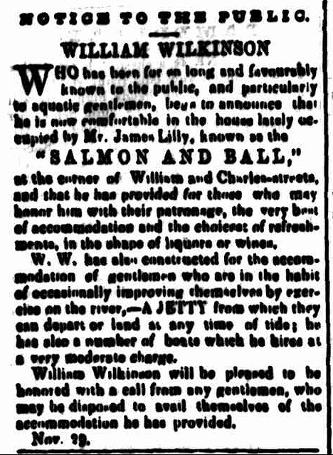 Cornwall Chronicle 3 December 1851