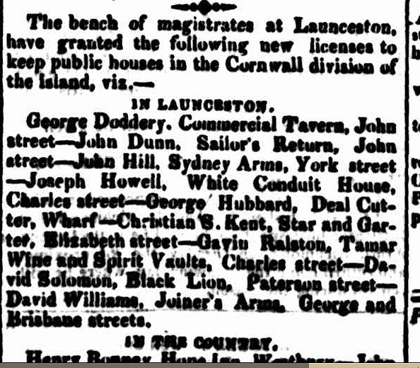 Hobart Town Courier, 28 September 1832