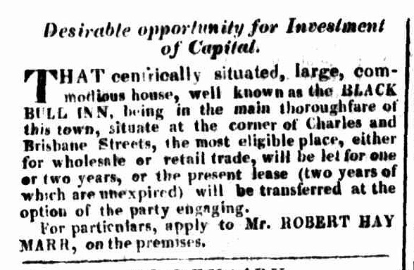Launceston Advertiser, 3 August 1829