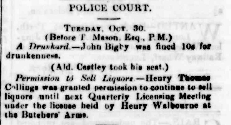Launceston Examiner, 22 October 1868