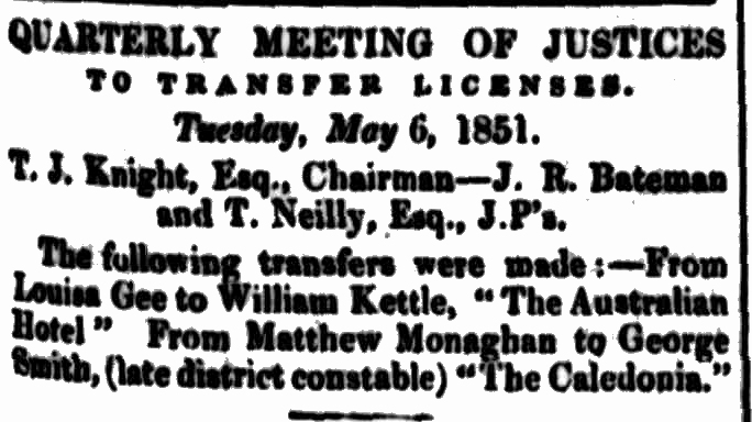 Cornwall Chronicle, 10 May 1851