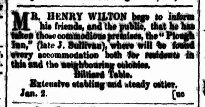Cornwall Chronicle, 12 January 1856