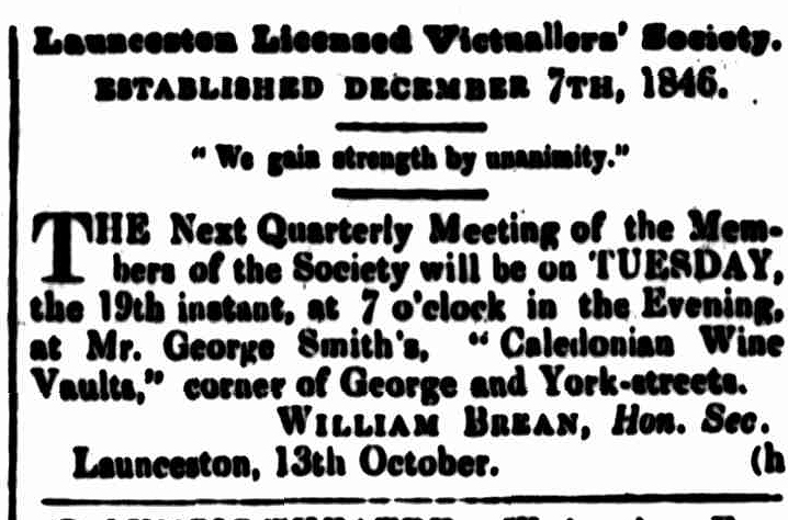 Cornwall Chronicle, 13 October 1852