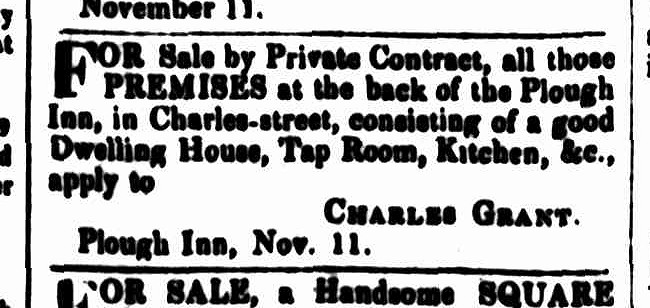 Cornwall Chronicle, 14 November 1840