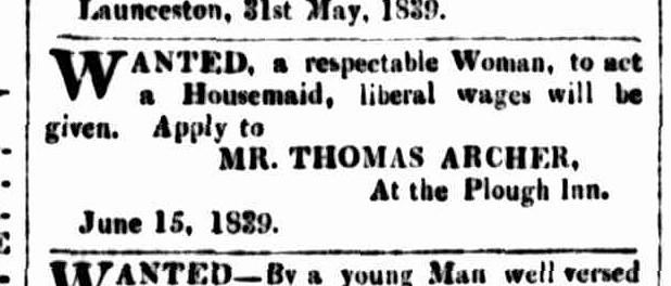 Cornwall Chronicle, 15 June 1839