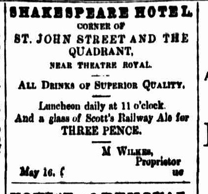 Cornwall Chronicle, 16 May 1866