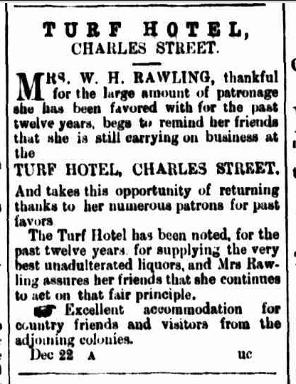 Cornwall Chronicle, 2 January 1867