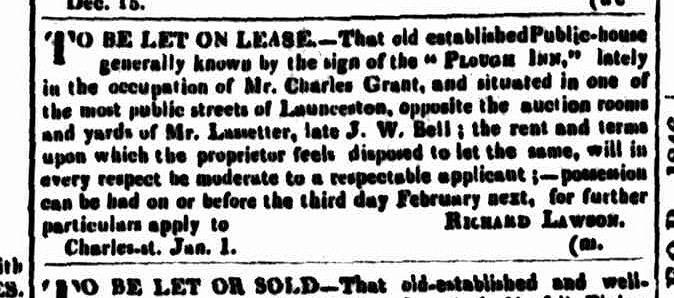 Cornwall Chronicle, 21 January 1846