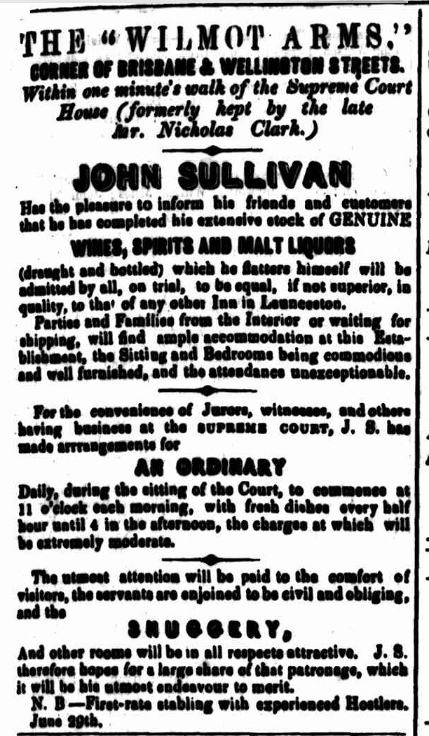 Cornwall Chronicle, 21 June 1849