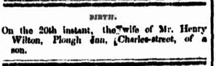 Cornwall Chronicle, 21 May 1856