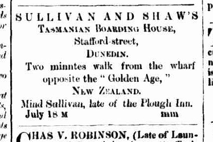 Cornwall Chronicle, 22 August 1863