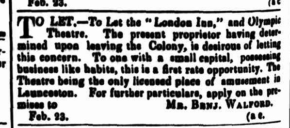 Cornwall Chronicle, 23 February 1850 - London
