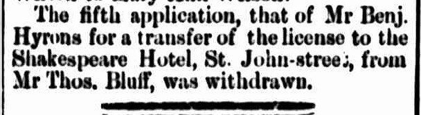 Cornwall Chronicle, 3 August 1864