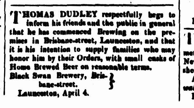 Cornwall Chronicle, 4 April 1840