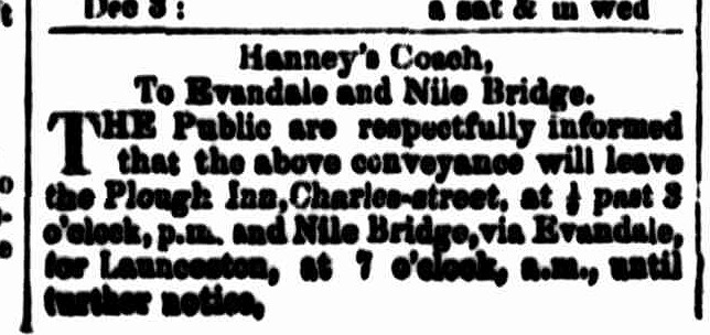 Cornwall Chronicle, 4 January 1860
