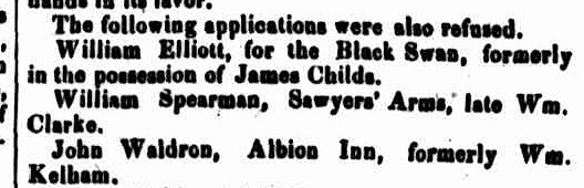 Cornwall Chronicle, 4 November 1846