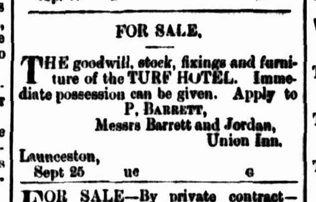 Cornwall Chronicle, 5 October 1867