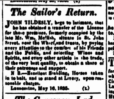 Cornwall Chronicle, 6 June 1835 b