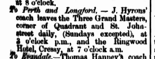 Cornwall Chronicle, 8 August 1863