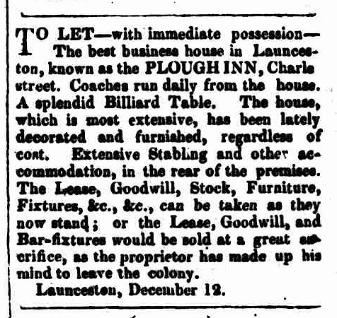 Hobarton Mercury, 12 January 1855