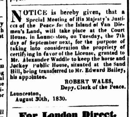 LA 6 September 1830