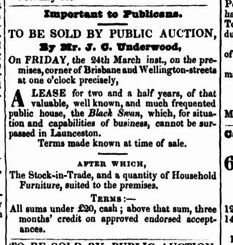 Launceston Advertiser, 16 March 1843